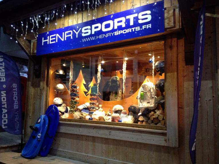 magasin henry sports megeve